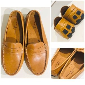 Mercanti Fiorentini Leather Loafers